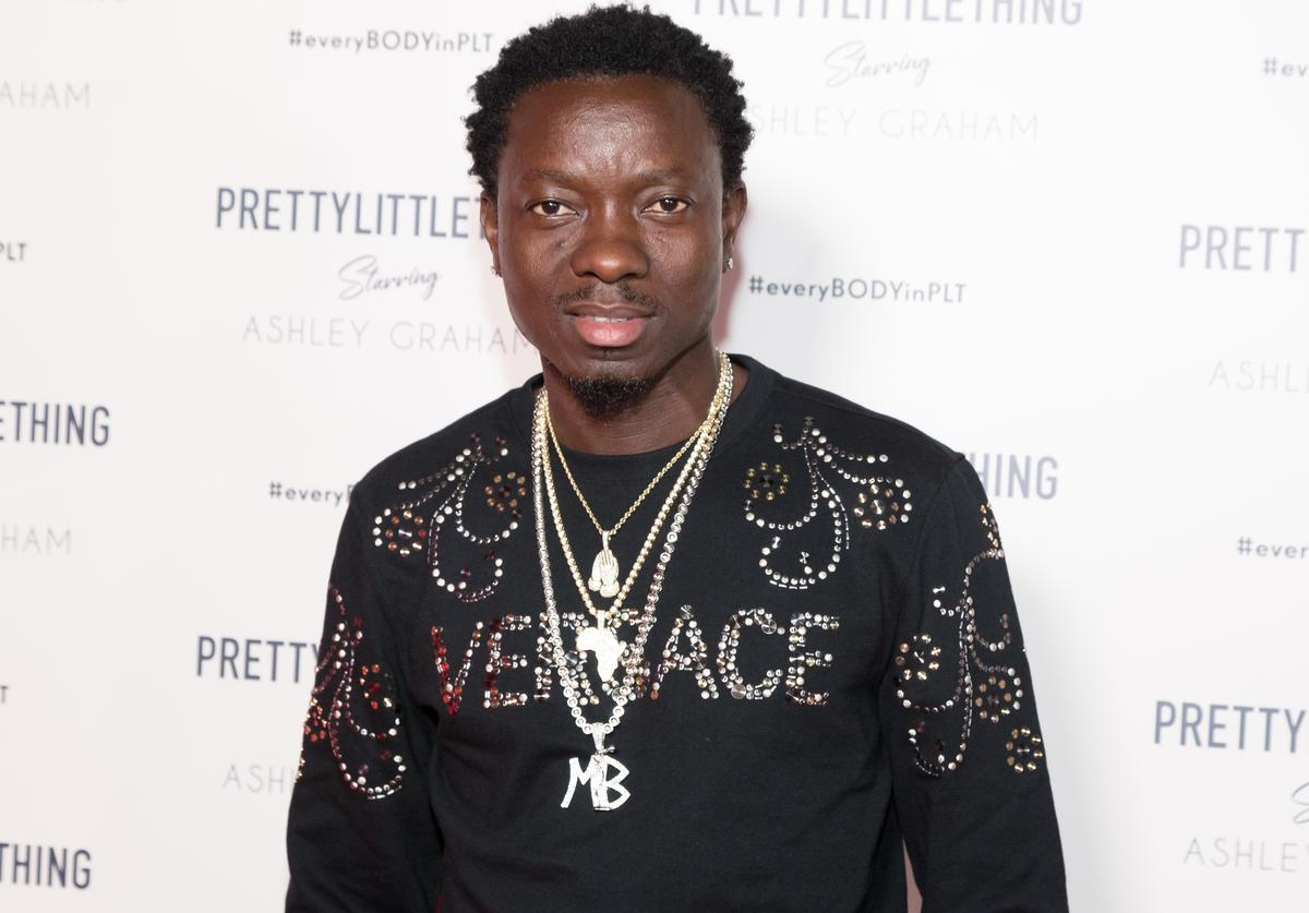 Michael Blackson attends the PrettyLittleThing x Ashley Graham Event at Delilah on September 24, 2018 in West Hollywood, California