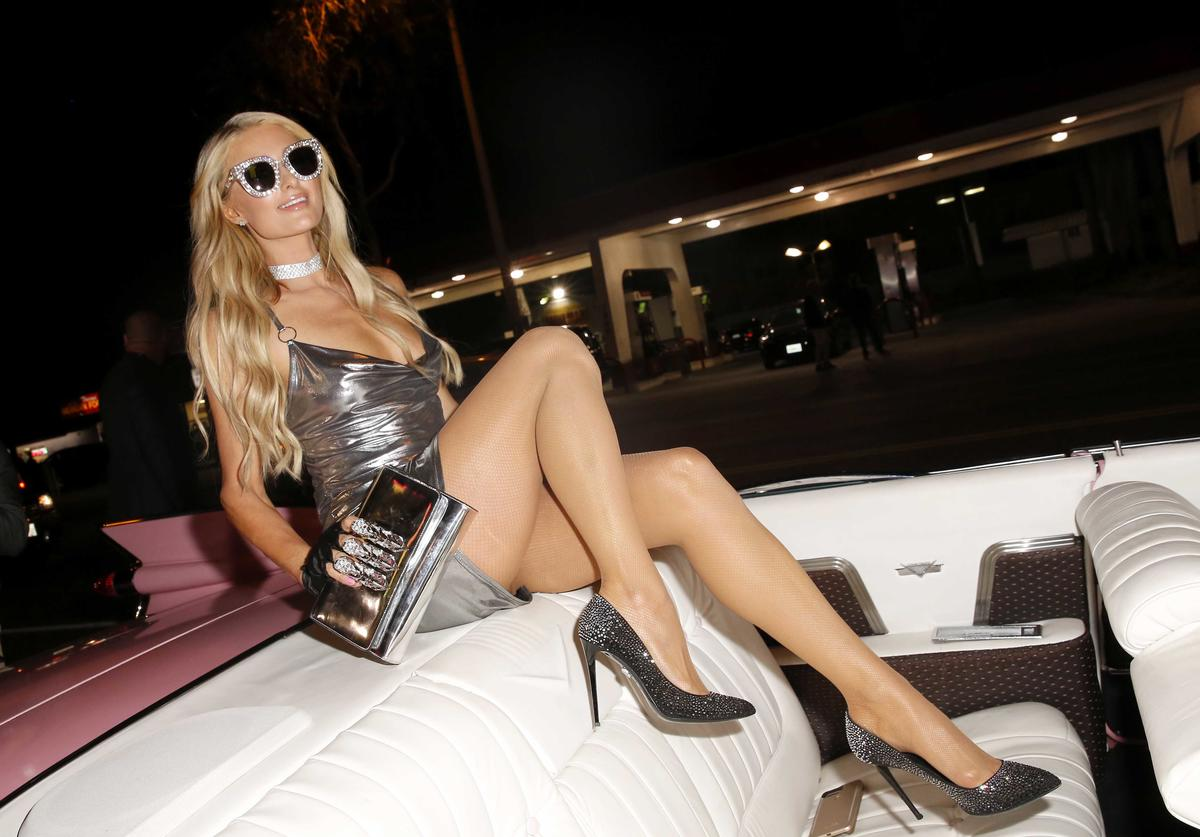 Paris Hilton attends the boohoo.com x Paris Hilton Collection Launch Party at Delilah on June 20, 2018 in West Hollywood, California