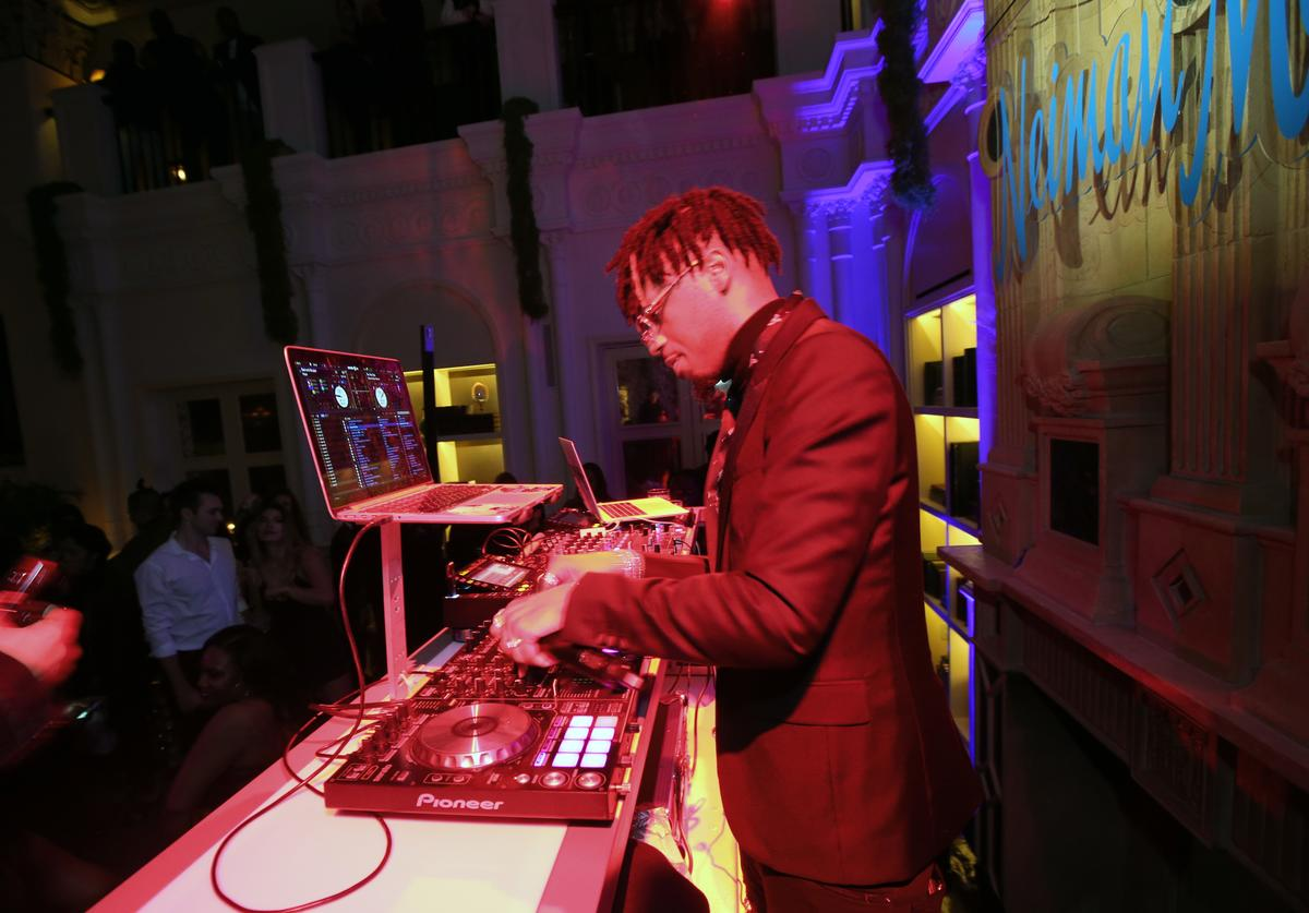 Metro Boomin performs at the 2018 GQ x Neiman Marcus All Star Party at Nomad Los Angeles on February 17, 2018 in Los Angeles, California