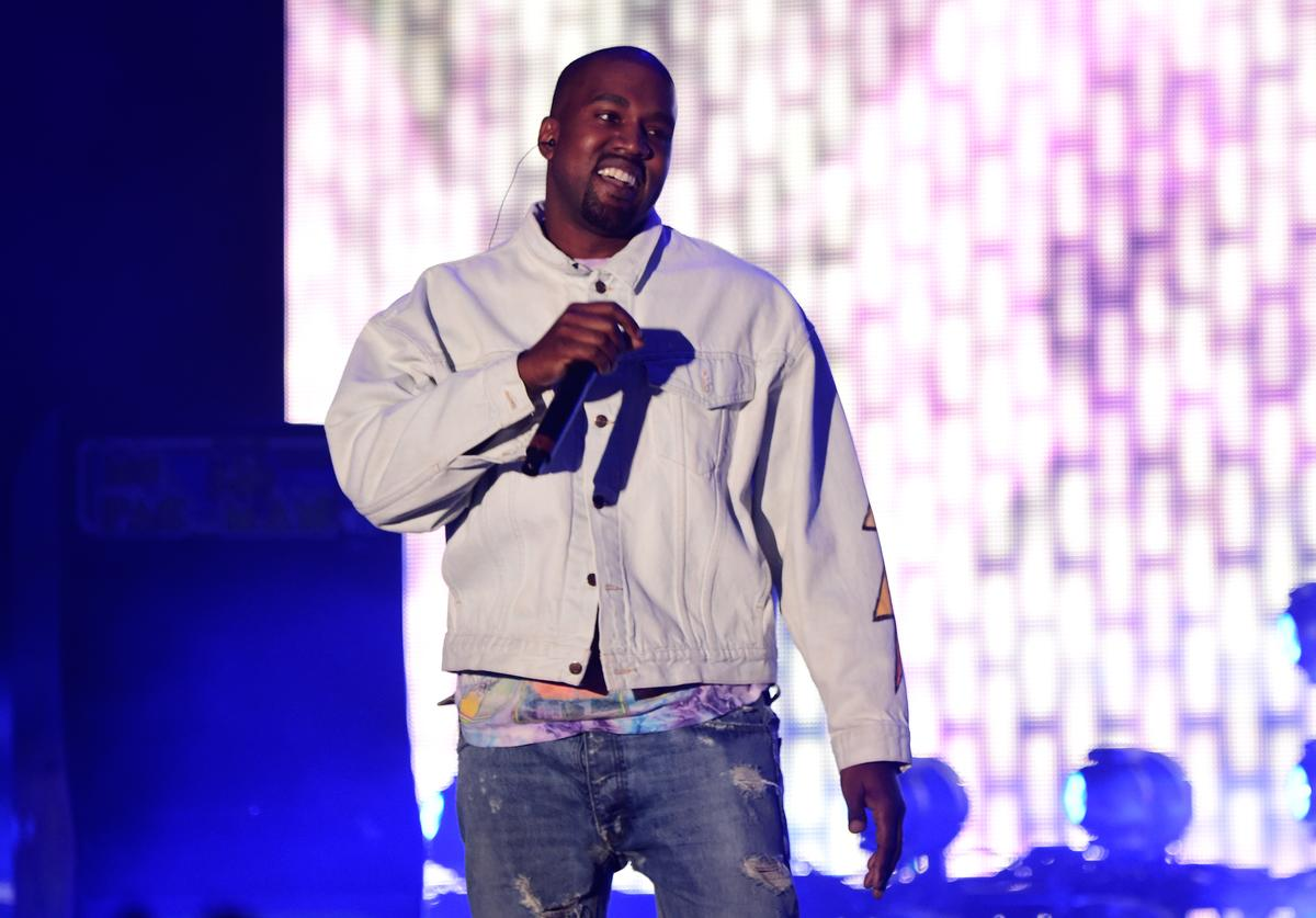 Kanye West performs onstage during day 1 of the 2016 Coachella Valley Music & Arts Festival Weekend 1 at the Empire Polo Club on April 15, 2016 in Indio, California