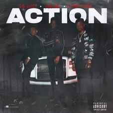 """Yung Mal Drops Thumping """"Action"""" With Pi'erre Bourne & Lil Gotit"""
