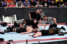 Watch WWE Ring Collapse Under The Big Show And Braun Strowman
