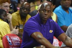 """Magic Johnson And Lakers Investigated For """"Tampering"""" With Paul George"""