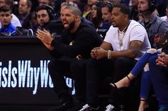 Drake Joins Toronto Raptors Broadcast While Sipping Some Pinot Grigio