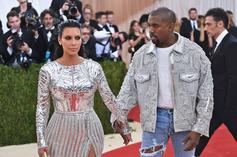 Kanye West Ignores Kim Kardashian Filter Attempts At Family Valentine's Day Dinner