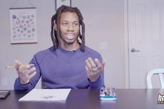Watch Denzel Curry Draw & Share Favorite Cartoons Of All Time