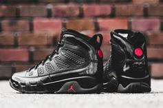 "Air Jordan 9 ""Bred"" To Release For First Time This Weekend"