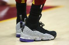 "LeBron James Debuts Vince Carter Inspired Nike LeBron 15 ""Shox BB4"""