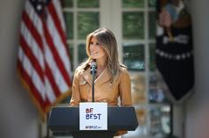 Melania Trump's Cyber Safety Booklet Accused Of Plagiarizing Previous Edition