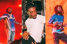 Lil Uzi Vert, Meek Mill, Young Thug & More At Rolling Loud: Photo Highlights