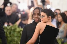 Kylie Jenner Mounts Travis Scott In Sultry GQ Cover, Details Their Relationship