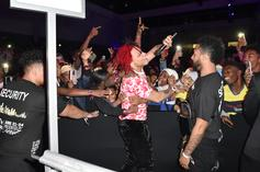 Trippie Redd Stops Concert To Resuscitate Passed Out Fan