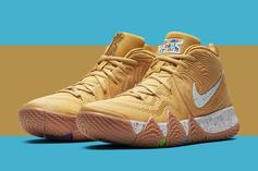 """Nike Kyrie 4 """"Cereal Pack"""" New Release Details Announced"""