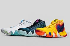 """Nike Introduces Kyrie 4 """"Decades Pack"""" + Release Info"""