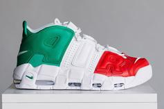 """Nike Air More Uptempo EU """"City Pack"""" Releasing Today: Purchase Links"""