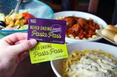 Olive Garden Offering Unlimited Pasta Pass For $300