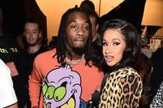 Cardi B Shares 1 Year Anniversary Pic Of Her Bedroom Wedding With Offset