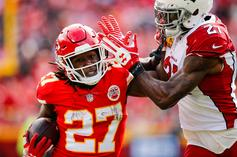 Footage Of Kareem Hunt Enraged Before Allegedly Assaulting A Man Hits The Web