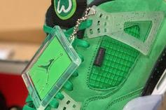 "Mark Wahlberg Offering Chance To Win ""Wahlburger"" Air Jordan 4s"