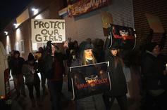 #MuteRKelly Activists Take To Sony Headquarters Protesting Singer Be Dropped From Label