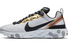 Metallic Gold Comes To The Nike Element React 55