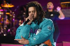 "J. Cole Performs ""Middle Child, ""A Lot"" & More During 2019 NBA All-Star Game"