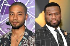 """50 Cent Takes Aim At Jussie Smollett As """"Gay Tupac"""" Following Indictment Reports"""