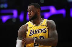 "LeBron James Ruled Out Against Pistons Due To ""Load Management"""