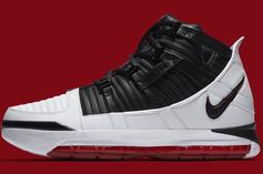 """Nike Zoom LeBron 3 """"Home"""" Official Images & Release Details"""