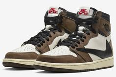 Travis Scott X Air Jordan 1 High OG Receives Updated Release Date