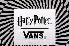 Vans & Harry Potter Have A Sneaker And Apparel Collection On The Way
