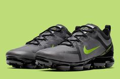 Nike VaporMax 2019 Releasing In Black And Volt: Official Images