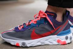 """Nike React Element 87 """"Red Orbit"""" Releasing Soon: Detailed Images"""