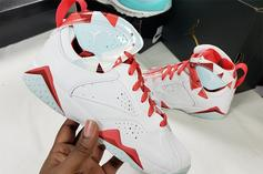 "Air Jordan 7 ""Topaz Mist"" Colorway To Debut Next Month"