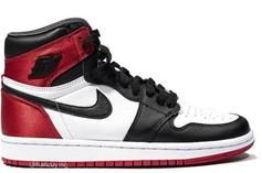 "Satin ""Black Toe"" Air Jordan 1 Rumored For August Release: New Photos"