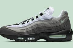 "Nike Air Max 95 ""Fresh Mint"" Drops This Friday: Official Details"