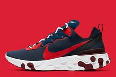 "Nike React Element 55 ""Rabid Panda"" Releases Today: Details"