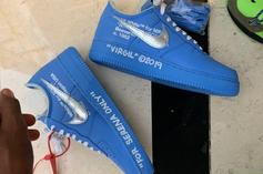 Serena Williams Gifted Upcoming Off-White x Nike Air Force 1 Collab