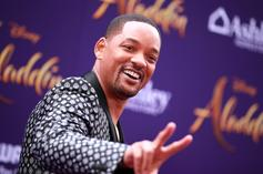Will Smith Gets Jiggy With It & Wears Suggestive Genie Lamp Costume
