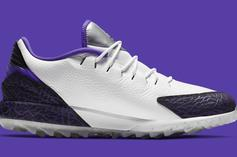"Jordan Brand Brings The ""Concord"" Colorway To Its Golf Shoe: Details"