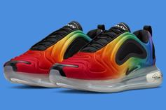 "Nike Air Max 720 ""Be True"" Drops Just In Time For Pride Month: Details"