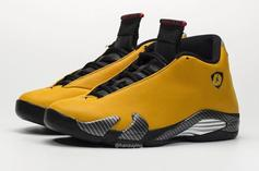 "Air Jordan 14 SE ""Reverse Ferrari"" Coming Soon: Closer Look"