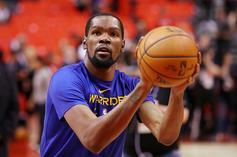 Kevin Durant Posts Update On IG Following Surgery On Ruptured Achilles