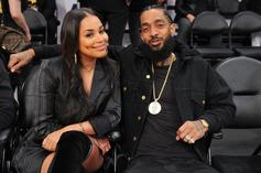 """Lauren London """"Sends Prayers"""" For Her Beloved Nipsey Hussle On Father's Day"""