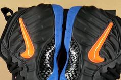 "Nike Air Foamposite Pro ""Knicks"" Coming This Summer: First Look"