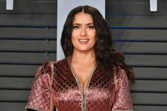 """Salma Hayek May Be Joining The Cast Of Marvel's """"The Eternals"""""""