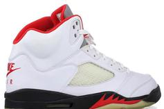 "Air Jordan 5 ""Fire Red"" Dropping In 2020 For 30th Anniversary: Report"