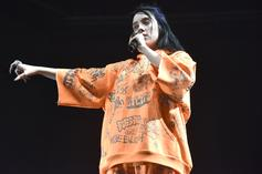 Billie Eilish Launches Her Bold AF Graffiti-Garnished Clothing Line