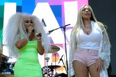 """Blac Chyna's Mom Threatens To Knock Wendy WIlliams' """"Face Off"""""""