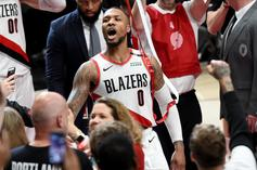 "Damian Lillard Talks ""Big D.O.L.L.A"" & Earning Lil Wayne's Respect As A Rapper"